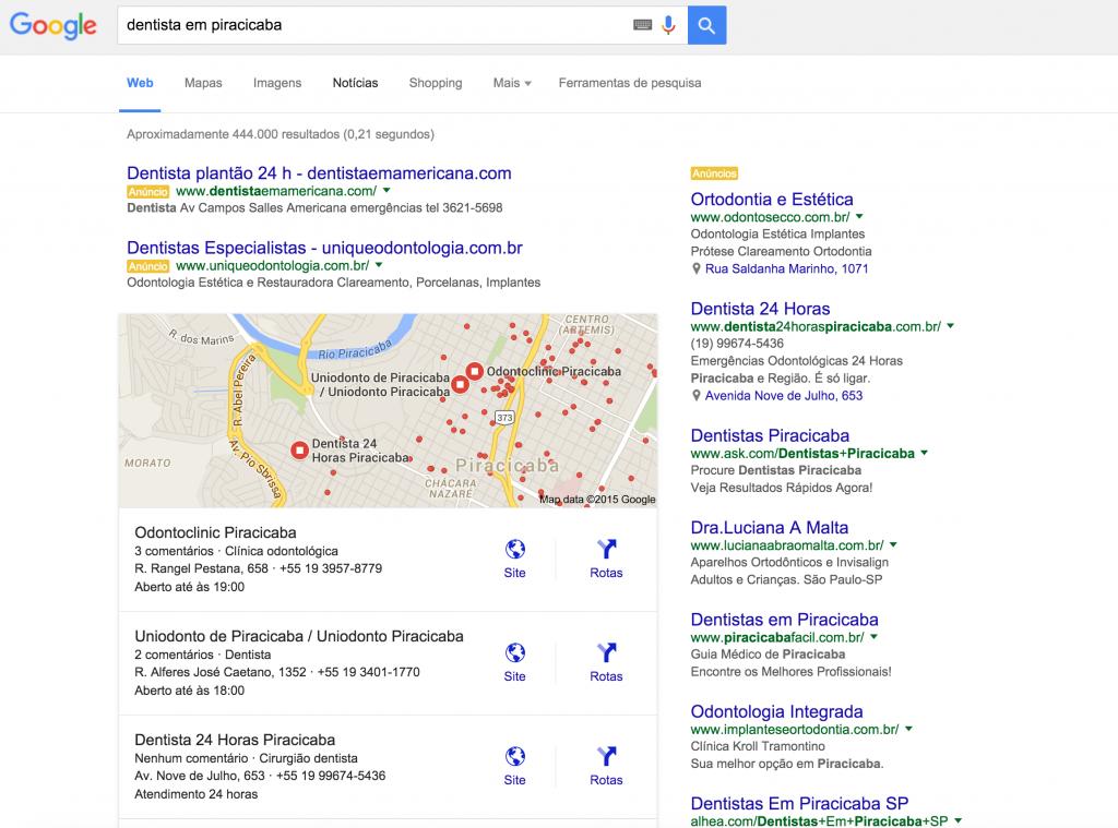 Amostragem Google