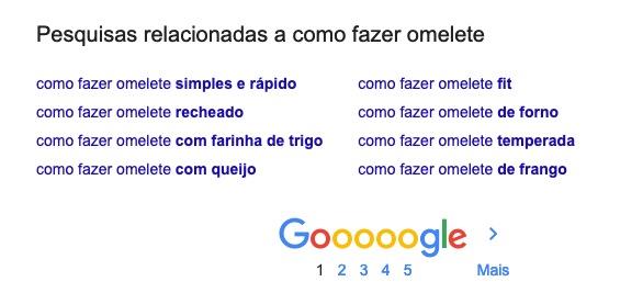 como fazer omelete - pesquisa google
